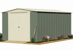 The Oldfeilds Workshop range is an ideal selection providing extra height for all your storage and workspace solutions. The Oldfields Workshop range features a wall height of 2.00 meters, making the Workshop spacious and comfortable to use as a work shed, tool shed and provides added storage space.