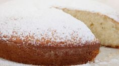 This is a simple butter cake that is great with tea or coffee. Easy to make, pretty and very delicious.