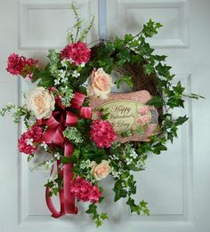 Gorgeous Valentine wreath for 2017