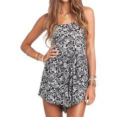 Billabong Dancing Shores Dress ($31) ❤ liked on Polyvore