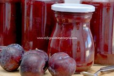 Mermelada de ciruelas rojas Marmalade Jam, Jam And Jelly, Secret Recipe, Bottles And Jars, Cookies And Cream, High Tea, Vinaigrette, Recipies, Food And Drink