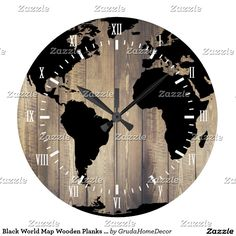 Old world map vintage history designer clock designer clocks old world map vintage history designer clock designer clocks clocks and designers gumiabroncs