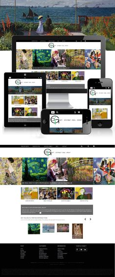 responsive ecommerce by picaflor azul