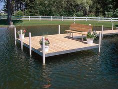 We take pride in our work from expert consultation to installation of boat docks, lifts, and even provide educational videos. Lake Dock, Boat Dock, Docks Lake, Building A Dock, Lake Landscaping, Farm Pond, Detroit Lakes, Floating Dock, Lakeside Living