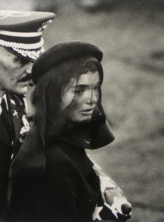 Jackie Kennedy Funeral Veil   1963, gelatin silver print, 13 15/16x10 3/8in (paper 16x20in)