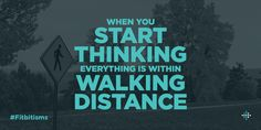 10 miles to the closest mall? Bring. It. On. #Fitbitisms Get Healthy, Healthy Habits, Walking Quotes, 8th Sign, Workout Humor, Embedded Image Permalink, Get In Shape, Monday Motivation, Fitness Tips