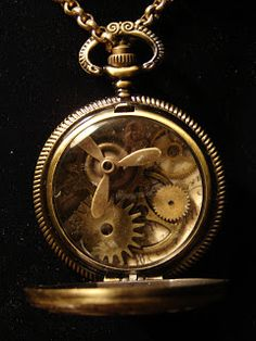 Art by Wendy: New steampunk jewelry (part 1)