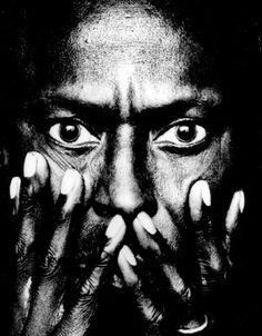 Miles Davis photographed by Anton Corbijn