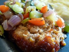 Only From Scratch: Roasted Vegetable Meatloaf