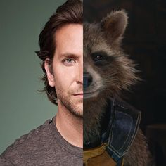 Congrats Bradley Cooper with your 43rd. In our little community most famous for portraying Rocket Raccoon and Face but the first time I saw him was in Wet Hot American Summer. -Melvin #happybirthday #bradleycooper #rocketraccoon #face #guardiansofgalaxy #theateam #wethotamericansummer #gotg #avengers #infinitywar #avengersinfinitywar #netflix #mcu #marvelcomics