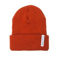 Raised By Wolves - Alert Watch Cap Safety Orange #rbw #raisedbywolves #beanie