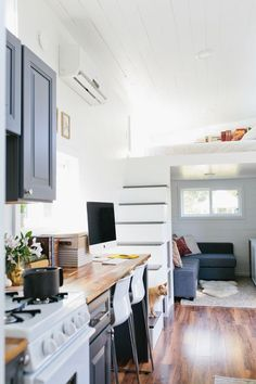 Tour This Creative Couple's Tiny House (and Prepare to Be Incredibly Jealous) | The Everygirl [theeverygirl.com]