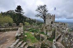 Sintra + Pena Palace + gardens
