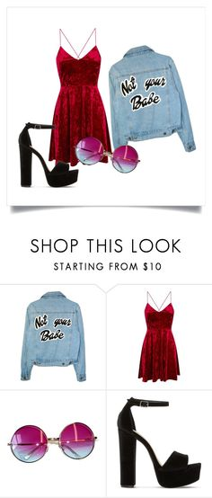 """summer vibes"" by catalina-dumitrache on Polyvore featuring Janis and Steve Madden"