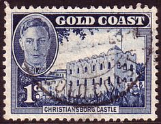 Gold Coast 1948 SG 136 Christianborge Castle Fine Used Scott 131 Other Gold Coast Stamps HERE