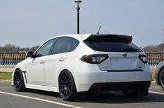 Car: 2011 Subaru Impreza WRX  Wheels: 18×9 Rota G-Force - Cosmic Blue (5×100/E35/56.1)   Tires: 255/35/18  Suspension: H Coilovers