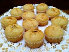 Muffin Recipes, Baby Food Recipes, Sweet Recipes, Cake Cookies, Cupcakes, Preparation H, Small Cake, Winter Food, Food And Drink