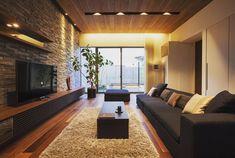 中村住宅開発さんはInstagramを利用しています:「ウォルナットの木は光の当たり方によってその表情が変わってきます。使う素材の特徴を考えて照明計画を行います。 #中村住宅開発 #家 #住宅 #石川県住宅会社 #石川県住宅実例 #こだわりの家 #デザイン住宅 #インテリア #インテリアデザイン #ウォルナット…」 Living Room Sofa, Home Living Room, Entertainment Room, House Rooms, Home Fashion, Interior Design Living Room, Architecture, House Styles, Table