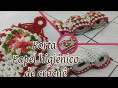 Porta Papel Higiênico de crochê - YouTube