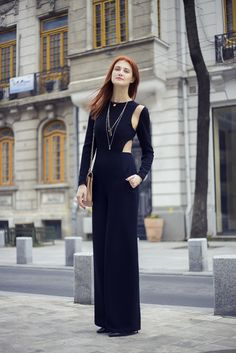 THE CUT – OUTS JUMPSUIT : Rhea Costa Blog Cut Outs, Costa, Jumpsuit, Chic, Blog, How To Make, Dresses, Design, Style