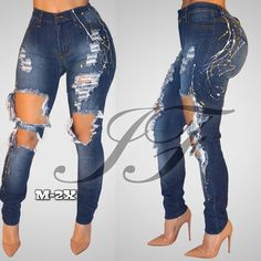 NY1725-Sweeties Splash Jeans (M-2X 18/20) via God's Infinitely Fly. Click on the image to see more!