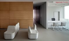 Cancer Prevention Center at the Center of Oncology in Warsaw and the collection of NOTI Termo seats and Comma chairs