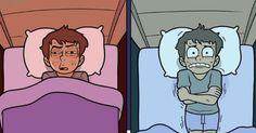 My sleep life in a comic