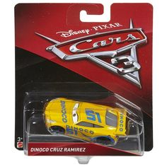 Disney Cars 3 Character Car Dinoco Cruz Ramirez