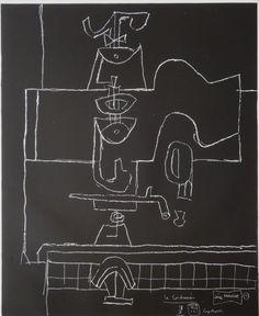 "Le Corbusier (1887-1965) ""série Panurge"" 1961/62 Nr. 1"