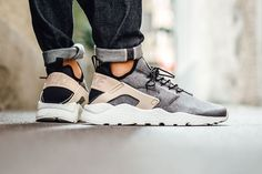 the best attitude 5d5cd e9c6d Buy authentic nike air huarache run ultra se black tan white trainer for cheap  sale, with high quality and preferential price and get FREE one pair of  socks ...