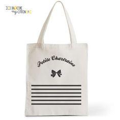 Tote Bag Rock my Citron, Petite Chartraine, Cadeaux Fêtes, Anniversaires