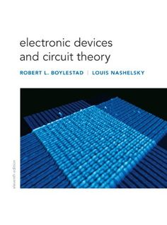 Electronic Devices and Circuit Theory (11th Edition) by Robert L. Boylestad http://www.amazon.com/dp/0132622262/ref=cm_sw_r_pi_dp_dlBBvb18EXR6F