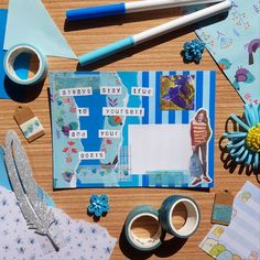 Mail Ideas, Pen Pals, Snail Mail, Art Projects, Birthdays, Packaging, Ship, Lettering, Instagram