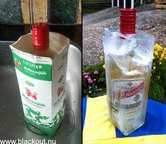 aquavit in ice Norwegian Food, Outdoor Entertaining, Vodka Bottle, Life Hacks, Foods, Tips, Party, Food Food, Food Items