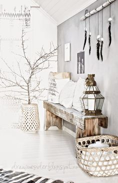Get inspired by these 17 bohemian chic interior designs . - Get inspired by these 17 bohemian chic interior designs room - Bohemian Interior, Scandinavian Interior, Home Interior, Interior Decorating, Ibiza Style Interior, Estilo Interior, Natural Interior, Scandinavian Living, Interior Plants