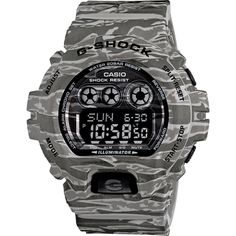 G-Shock GDX-6900CM-8 In Grey Camo - Watches - Tactical Distributors- Tactical Gear