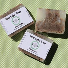 Mint Coffee Bar Soap from Kilted Suds brings you a refreshing bar of soap that exfoliates as it washes.  #veganbeauty #plantbased #soap #shopsmall #etsy #soapmaking #coffee #coffeesoap #vegansofig #essentialoils #handcraftedsoap #fresh #palmfreesoap #shoplocal #vegansoaps #handmade #showerwithus #lifestyle #handcrafted #vegan #naturalsoap #crueltyfree #handmadesoap #healthy #coldprocesssoap #artisansoap #vegansoap #soapshare #smallbusiness #palmfreeskincare