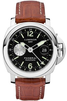 Luminor GMT Automatic Acciaio - 44mm PAM00088 - Collection Luminor - Officine Panerai Watches