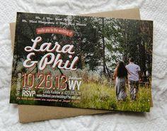 PRINTABLE photo invitation idea