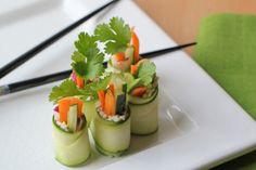 Zucchini 'Sushi' Rolls #Recipe! #enabledkids