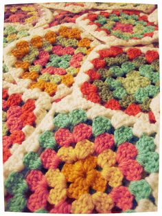 Having a block party! #crochet #grannysquares #craft