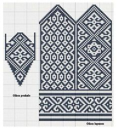 Knitted Mittens Pattern, Fair Isle Knitting Patterns, Knit Mittens, Knitting Charts, Afghan Crochet Patterns, Knitted Gloves, Knitting Stitches, Knitting Socks, Hand Knitting