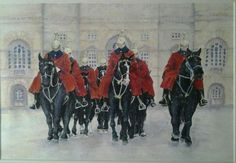 Horseguards by Jenny Alsop