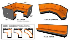 Selected Furniture   Booths Guide
