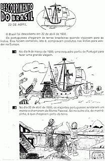 Blog Educativo da Rossita: DESCOBRIMENTO DO BRASIL- 22 de abril- atividades