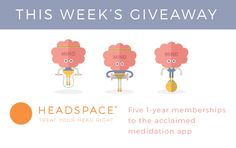 Vegan ultra-athlete Rich Roll announces 'The Plantpower Way' Thunderclap wellness awareness campaign plus weekly contest gifts and giveaways. Meditation Apps, Awareness Campaign, Headspace, Super Excited, Best Gifts, Join, Wellness, Foods, Blog