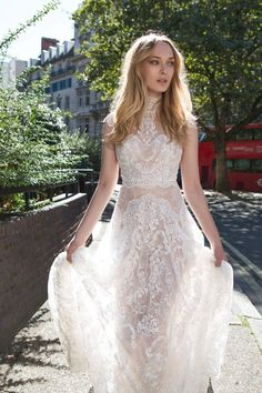 Check out Mayfair Collection of wedding dresses. Feminine silhouettes, deep cuts and luxurious textures perfect for the fashion-loving, contemporary bride.