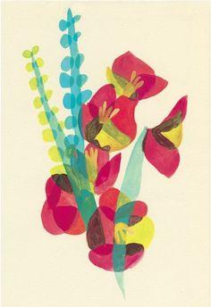 Quick To Build Moveable Greenhouse Options Hatsuki Miyahara Tissue Paper Art, Motif Floral, Art Plastique, Design Art, Artwork Design, Collage Art, Art Lessons, Flower Art, Illustrators