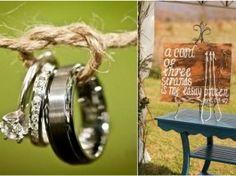 "18 Unique ""Tie The Knot"" Wedding Ideas"