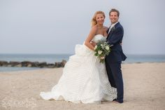 Nantucket Wedding Jetties Beach. Katie Kaizer Photography. Hayley Paige Guindon Gown.